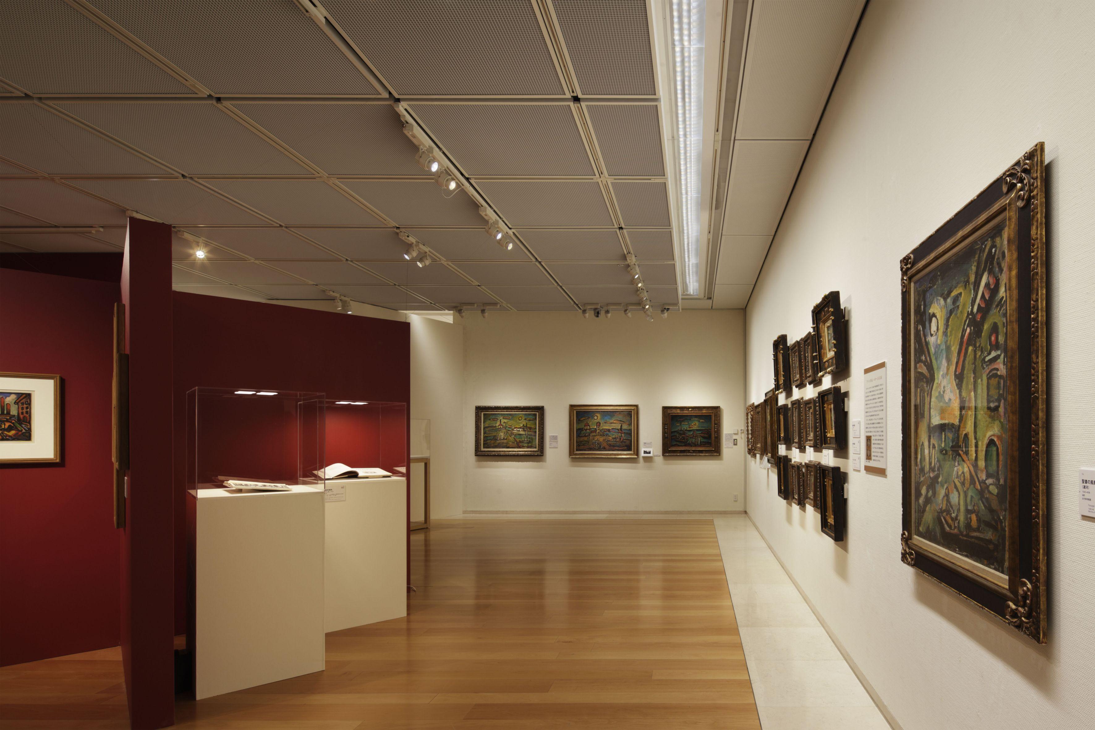パナソニック電工 汐留ミュージアム ルオーと風景 -パリ、自然、詩情のヴィジョン-