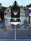 パナソニックHIT(R)太陽電池を搭載した東海大ソーラーカー