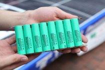 パナソニックの円筒形18650サイズの高容量リチウムイオン電池