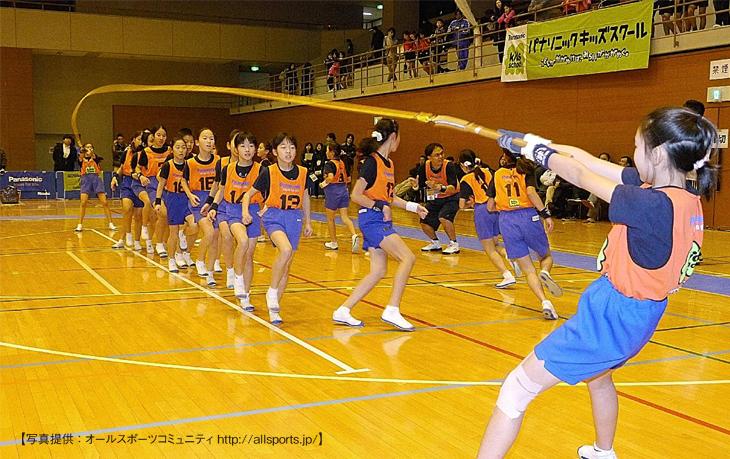 パナソニックキッズスクールCUP ロープジャンプ 小学生 No.1決定戦