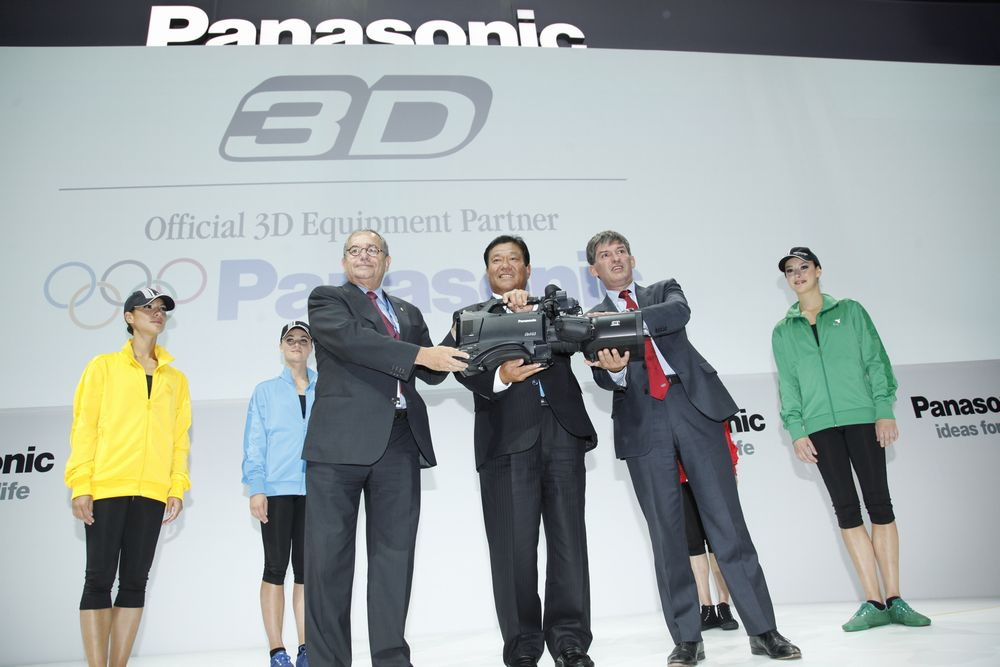 ロンドンオリンピックより3D放送