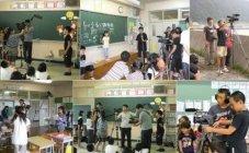 「きっと わらえる 2021」岩手県久慈市立久喜小学校でのワークショップ