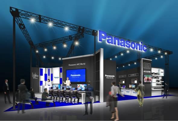 InterBEE2011 パナソニック メインブースイメージ