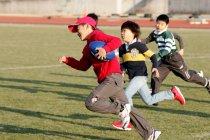 小学校4年生~6年生対象、パナソニック「電池教室&ラグビー教室 in 群馬」