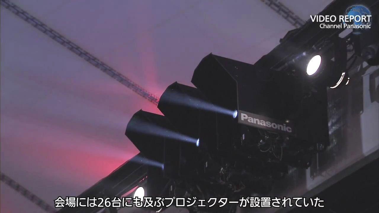 ロンドンオリンピックの開会式を彩った2万ルーメンの高輝度DLPプロジェクター