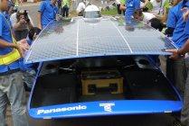 東海大ソーラーカーに搭載されたパナソニックHITと蓄電池