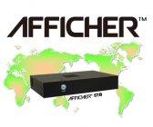 デジタルサイネージシステム「AFFICHER」