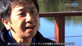 チームを監督する東海大学の木村教授(3分21秒)