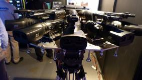 パナソニックの一体型二眼式3Dカメラレコーダー(AG-3DA1)で撮影