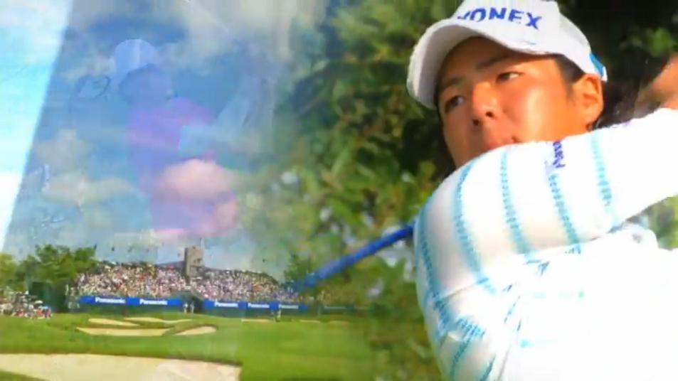 パナソニックオープンホストプロ 石川遼選手 (0分10秒)