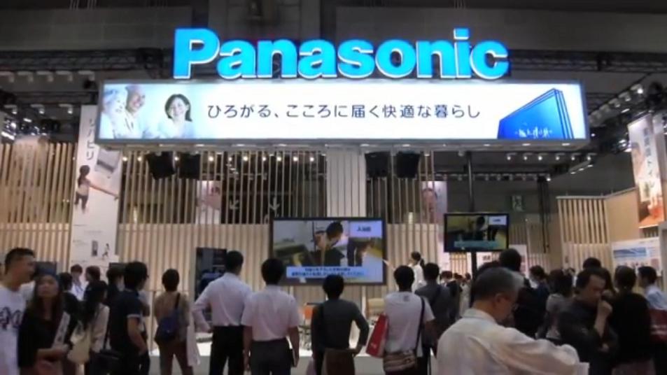 多くの来場者を集めたパナソニックブース (0分20秒)