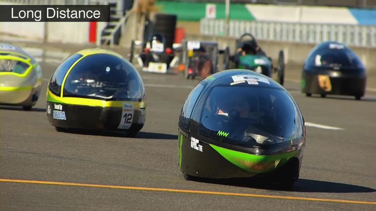充電式EVOLTA40本で走る次世代エネルギーカーレース