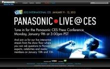 Panasonic LIVE @ CES