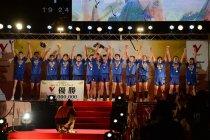 パナソニック パンサーズ、2011/12 V・プレミアリーグ、2年ぶり4回目の優勝
