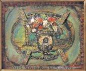 《古きヴェルサイユ》 1950年頃 油彩 当館蔵