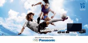 ルイーズ・ヘイゼル選手とネイマール選手を起用したパナソニックの広告