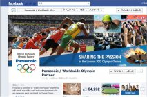 Facebookページ「Panasonic/Worldwide Olympic Partner」