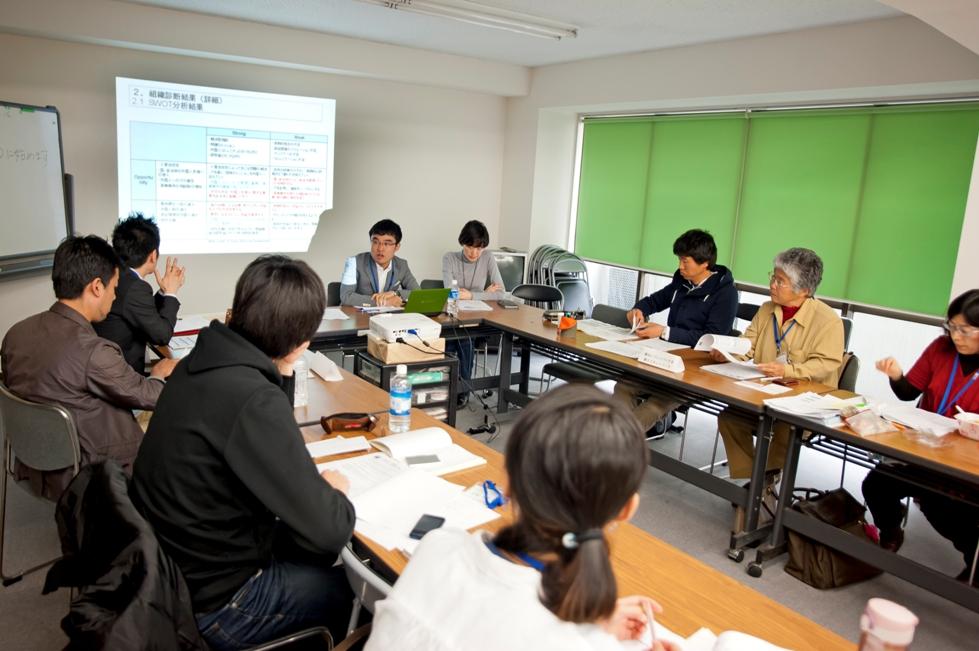 NPOの組織基盤強化を支援