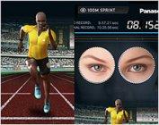 100M走(瞬きで操作):瞬きを早くすればするほど、画面内のランナーが早く走ります。