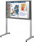ビッグデータをBIツールで整理し、電子黒板上で、分析・評価・討議する