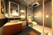 ミスト機能付浴室暖房換気乾燥機 設置イメージ