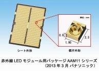 赤外線LEDモジュール用パッケージ AAM11シリーズ