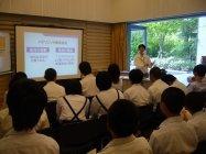 学校スマイル応援プロジェクト キャリアチャレンジディ(中学2年生対象のキャリア教育)