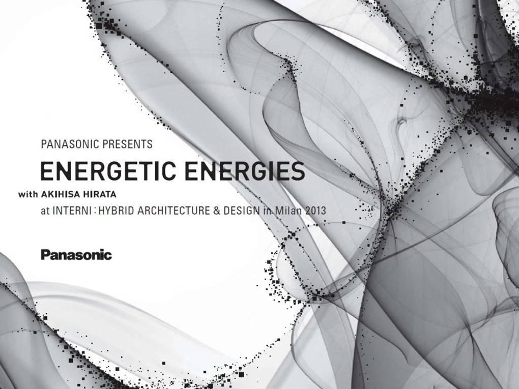 建築家・平田晃久氏とのコラボによる「Energetic Energies / エネルギーの情景」