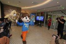 ファンの投票によって決定したイメージキャラクター「小松(xiaosong)」登場