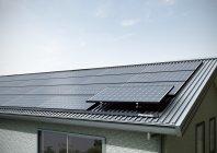 機能屋根システム(太陽光パネル設置例)