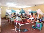 カクマ難民キャンプにある病院の様子