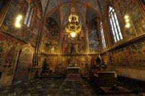 プラハ城納入事例:聖ヴィート大聖堂内チャペル