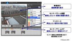 クラウドレコーダー サービス画面イメージ