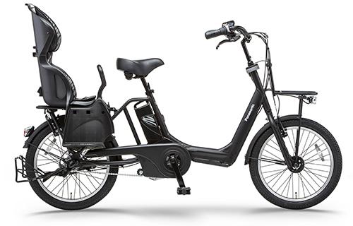 幼児2人同乗対応電動アシスト自転車「ギュット・アニーズ」