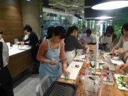 パナソニック×味の素料理教室 開催風景
