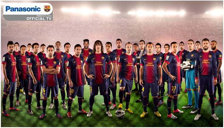 パナソニックがFCバルセロナとグローバル・パートナーシップ契約