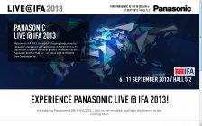 パナソニックが欧州最大の民生機器展「IFA 2013」に出展。Live@IFAサイト