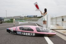 「2013 Ene-1 GP SUZUKA」コースに向かう車両