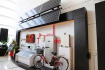 パナソニックのHIT太陽電池工場(マレーシア)ショールーム