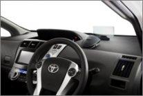 フロントインフォディスプレイ CY-DF100D車載イメージ