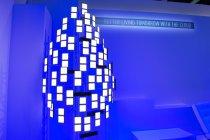 パナソニックがクラウド技術を活用したさらに快適なくらしを提案 有機EL照明コンセプトモデル
