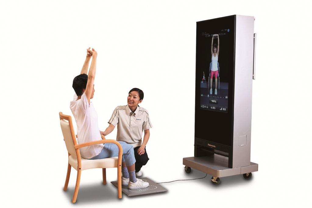 ミラーと映像を組み合わせた病院・施設向けリハビリナビゲーションシステム 「デジタルミラーVer.2」