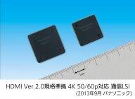 HDMI Ver.2.0規格準拠通信LSI外観