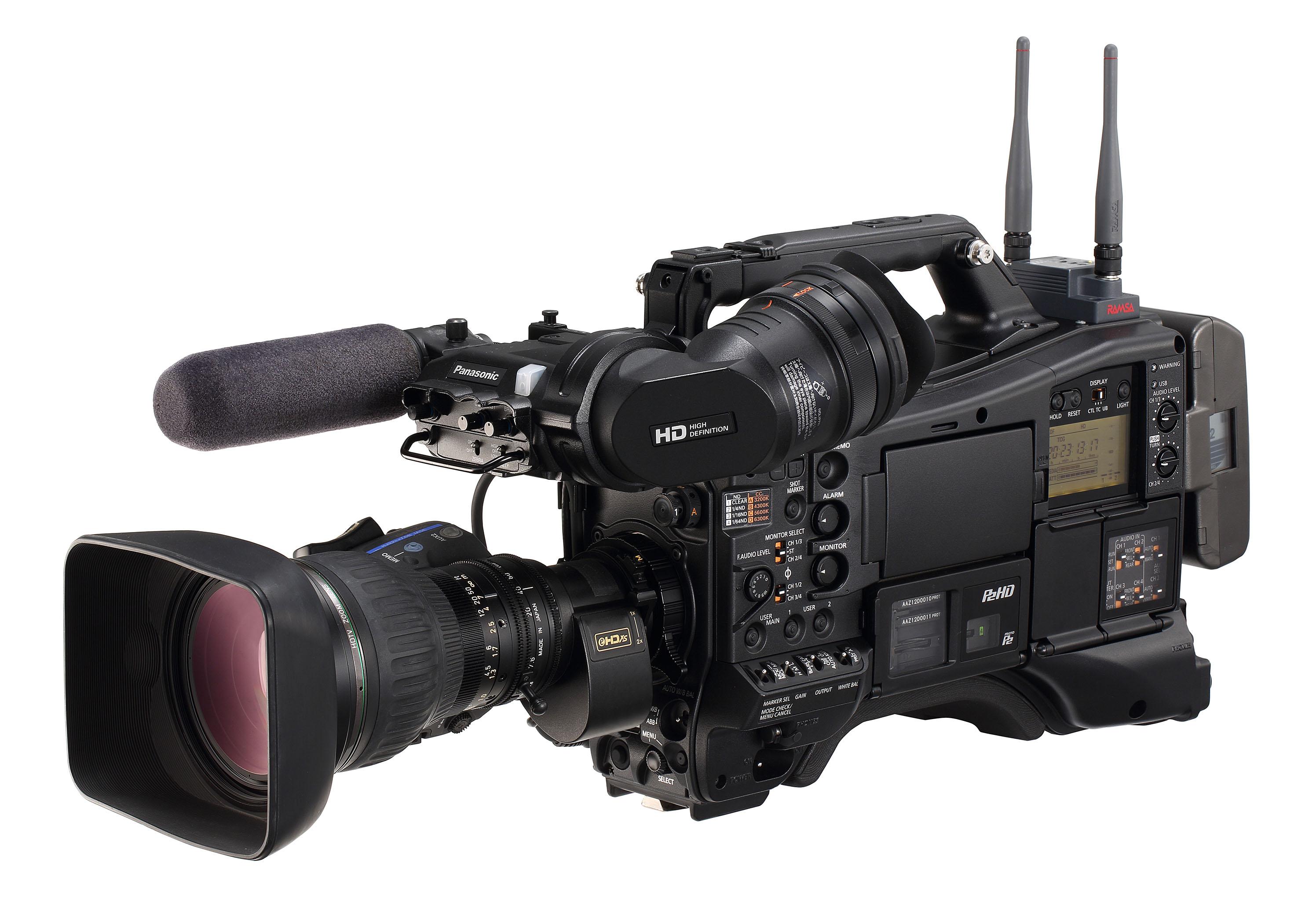 CAC機能を搭載した製品例:メモリーカード・カメラレコーダーAJ-PX5000