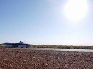 オーストラリア大陸を縦断する東海大学のソーラーカー。パナソニックのHIT太陽電池と蓄電池を搭載