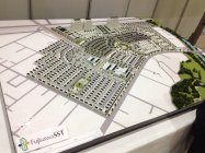 Fujisawaサスティナブル・スマートタウン 完成イメージ模型