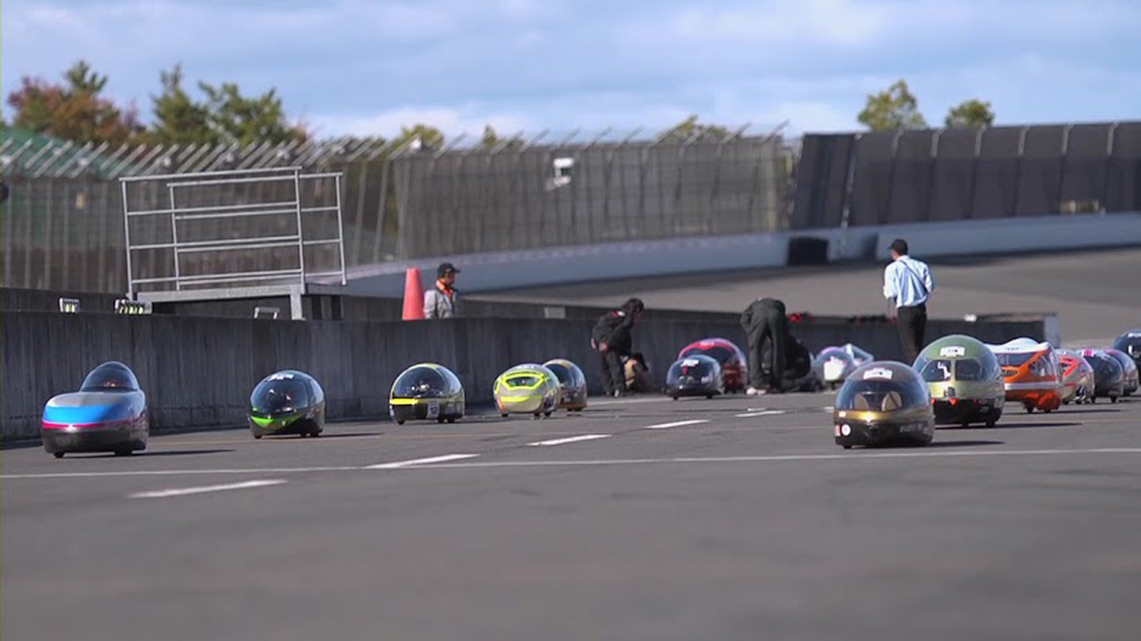 「2012 Ene-1 GP MOTEGI」チャレンジの様子