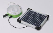 パナソニック 「ソーラーランタン」 太陽電池パネルとの接続