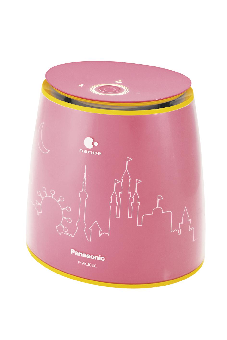 創立20周年を記念して中国で発売される、卓上型加湿空気清浄機「精霊」 ピンク