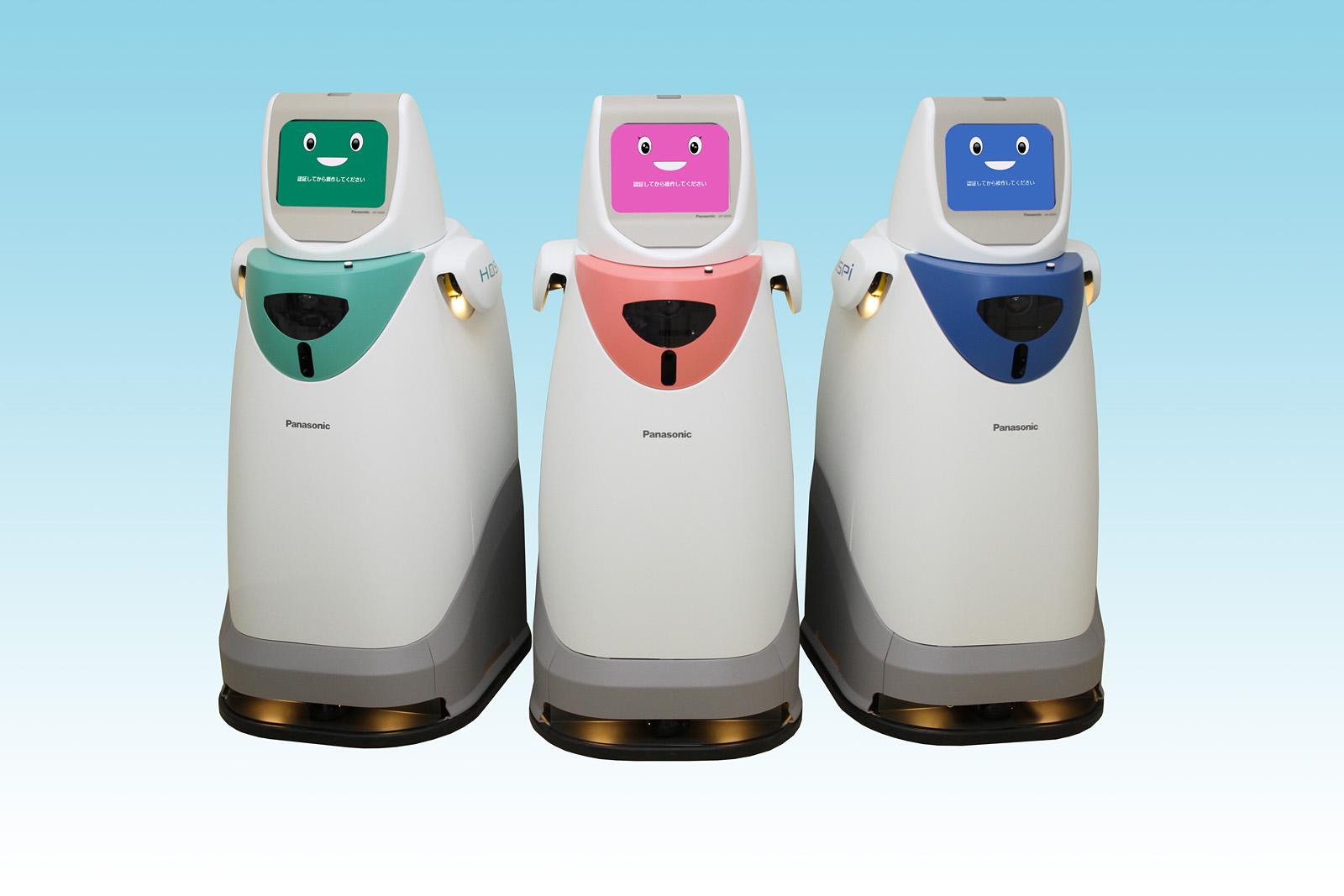 パナソニック「病院内自律搬送ロボット HOSPI(R)」